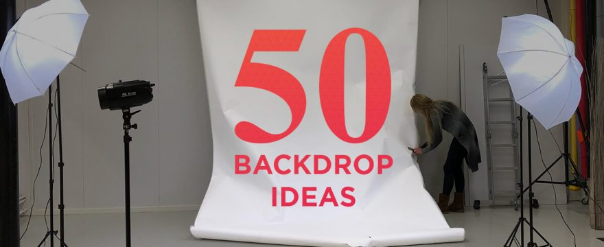 50 Ideas for Your DIY YouTube Video Backdrop